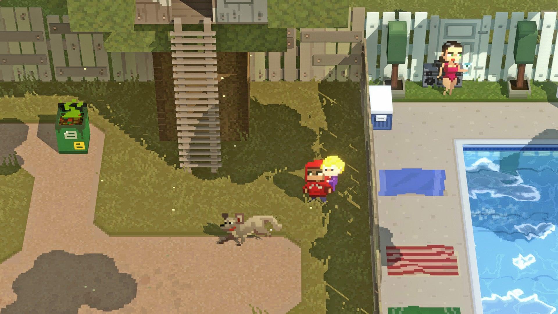 Screenshot of Mayhem In Single Valley
