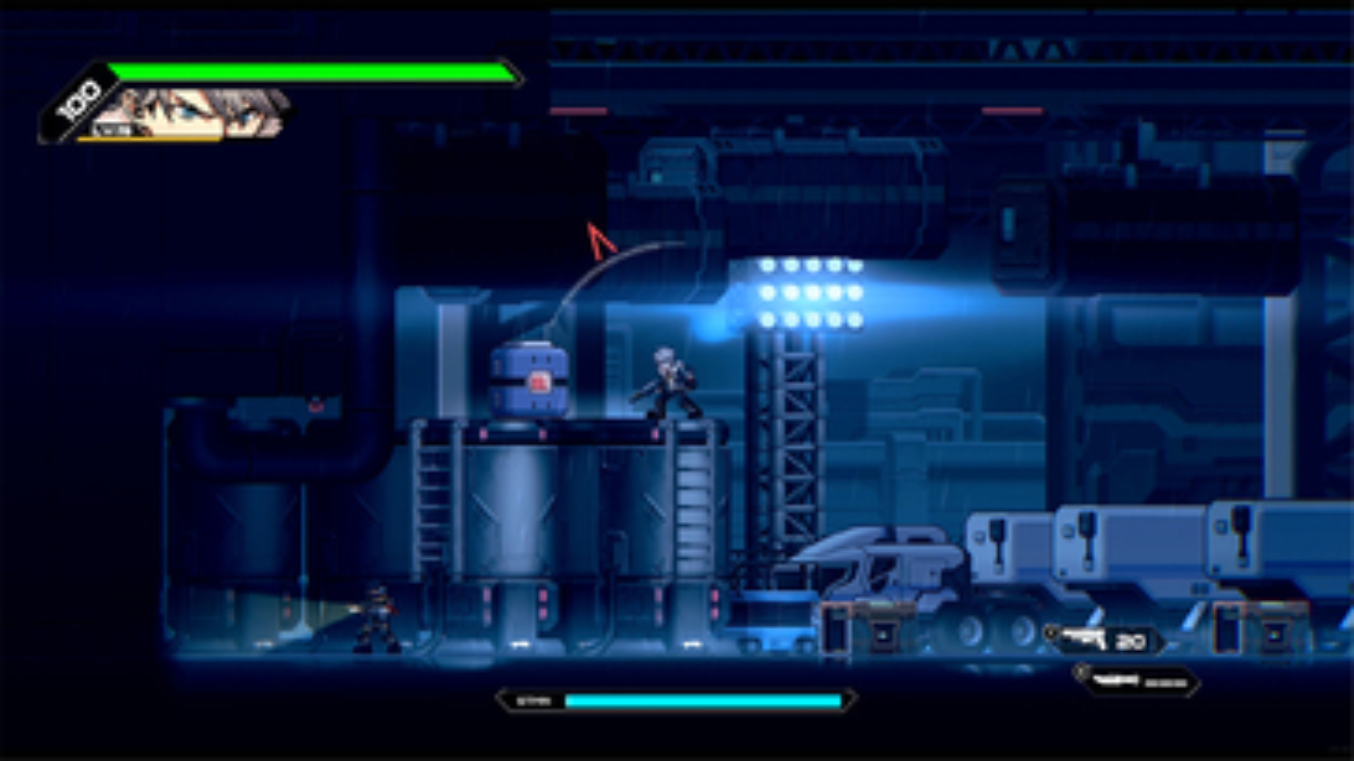 Screenshot of HARDCORE MECHA