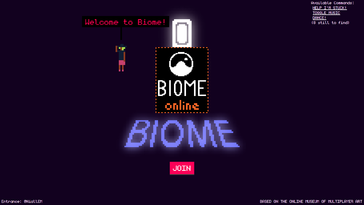 Screenshot of Biome Gallery