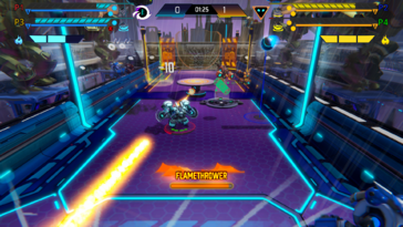 Screenshot of SMASH BALL
