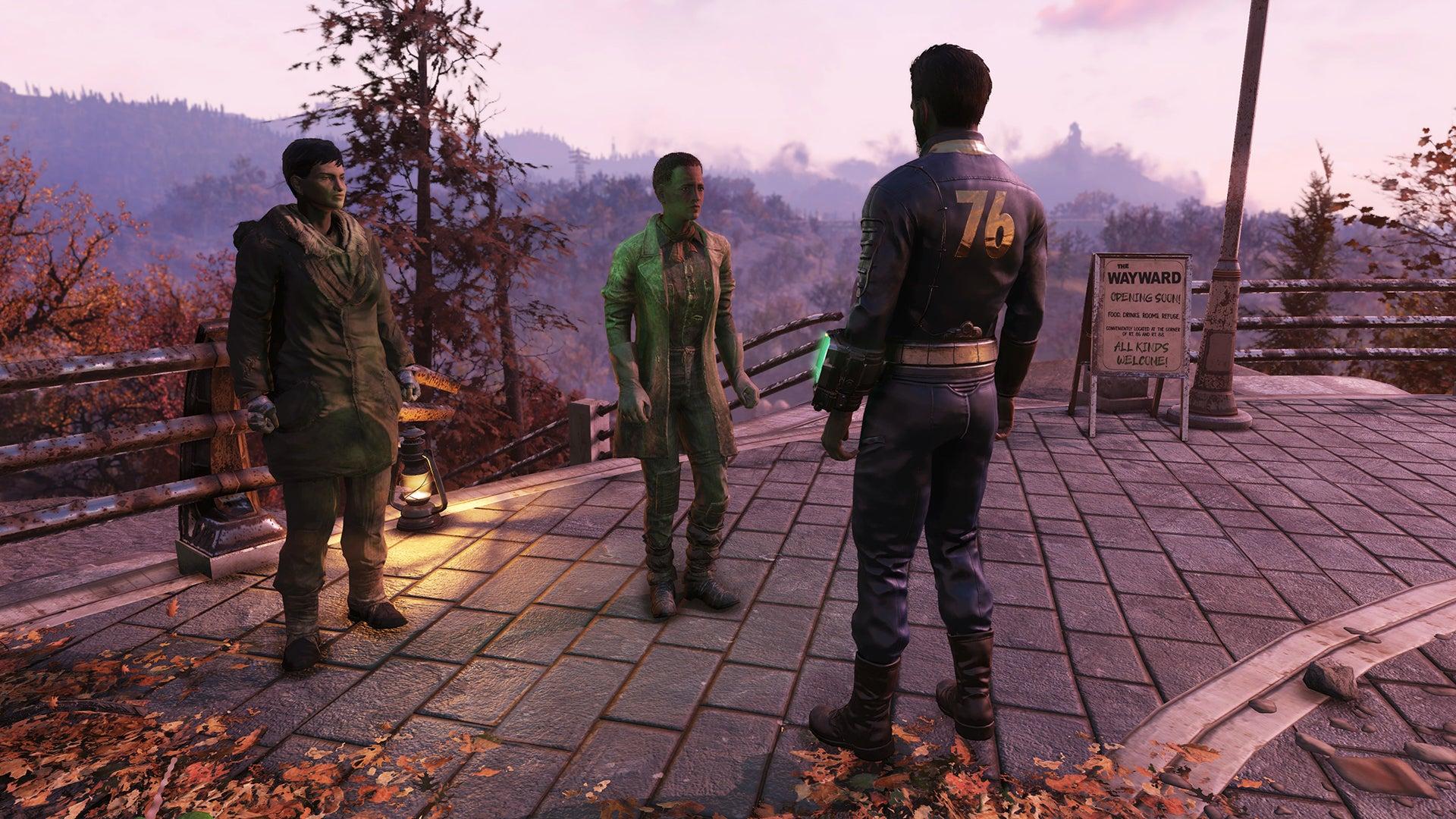 Screenshot of Fallout 76: Wastelanders