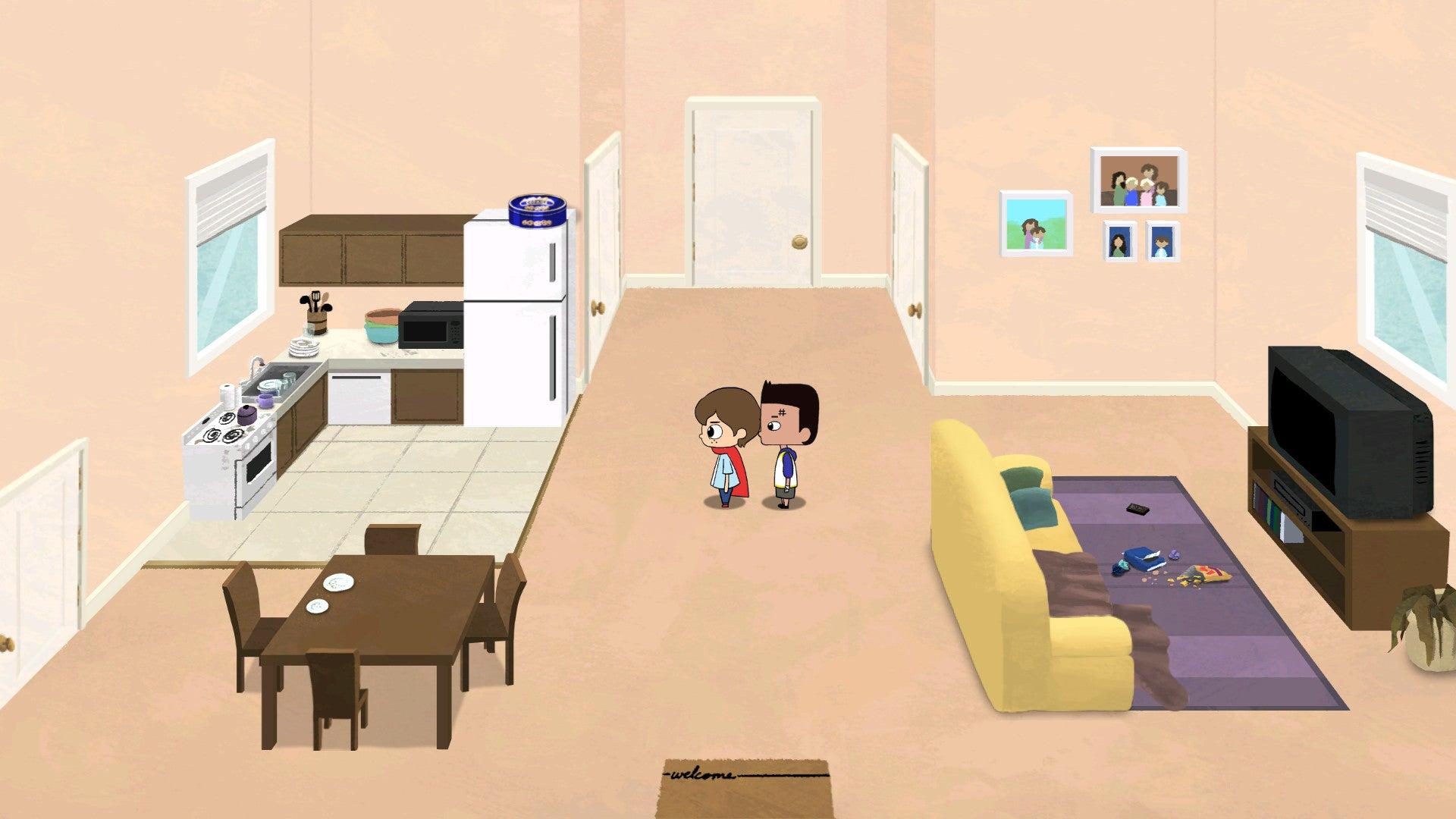 Screenshot of Cricket: Jae's Really Peculiar Game
