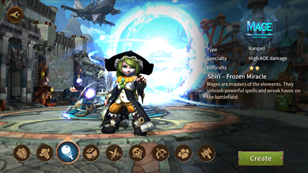Screenshot of Era of Legends.