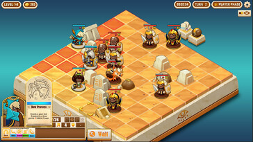 Screenshot of Warriors of the Nile
