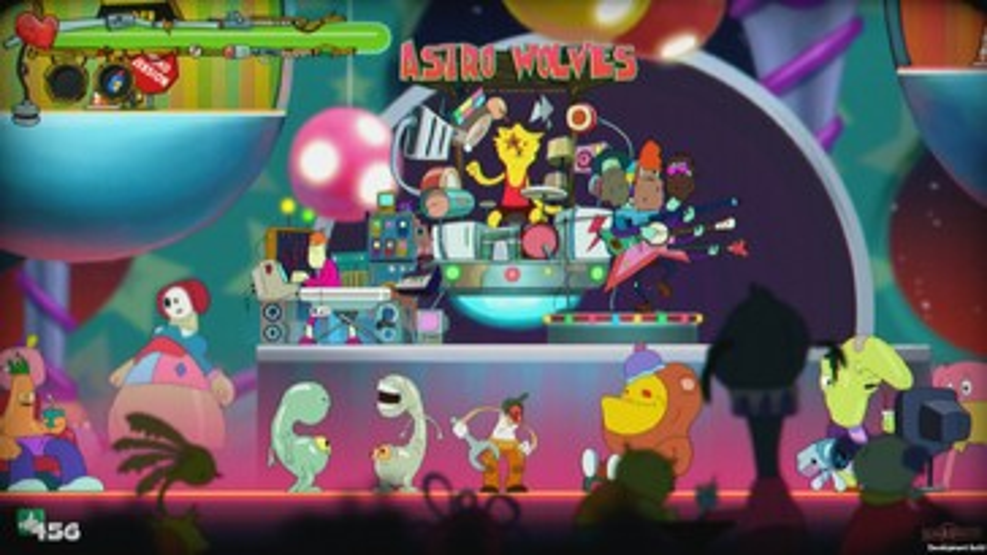 Screenshot of Redneck Ed: Astro Monsters Show