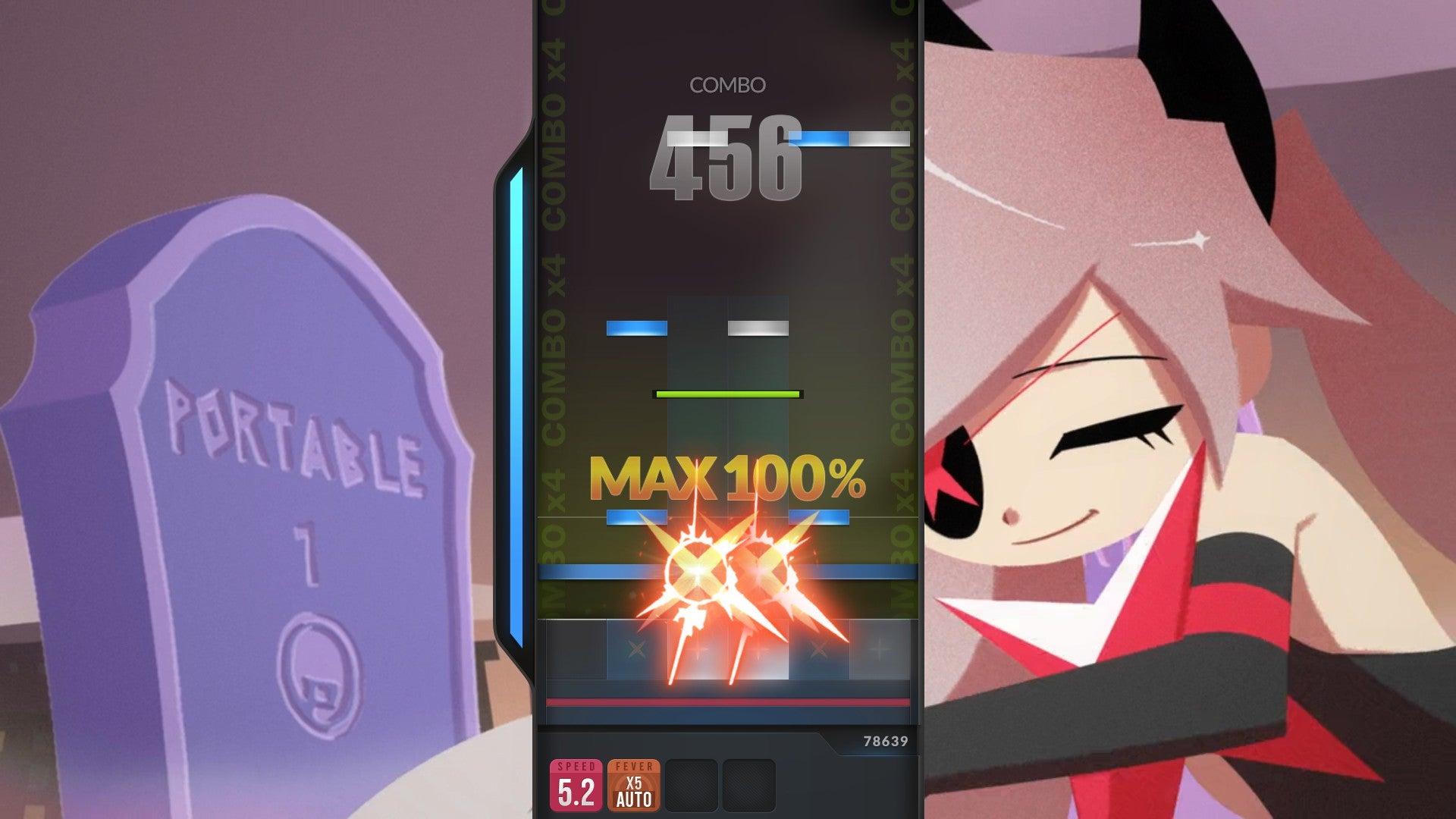 Screenshot of DJMAX Respect V