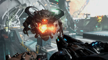 Screenshot of DOOM Eternal