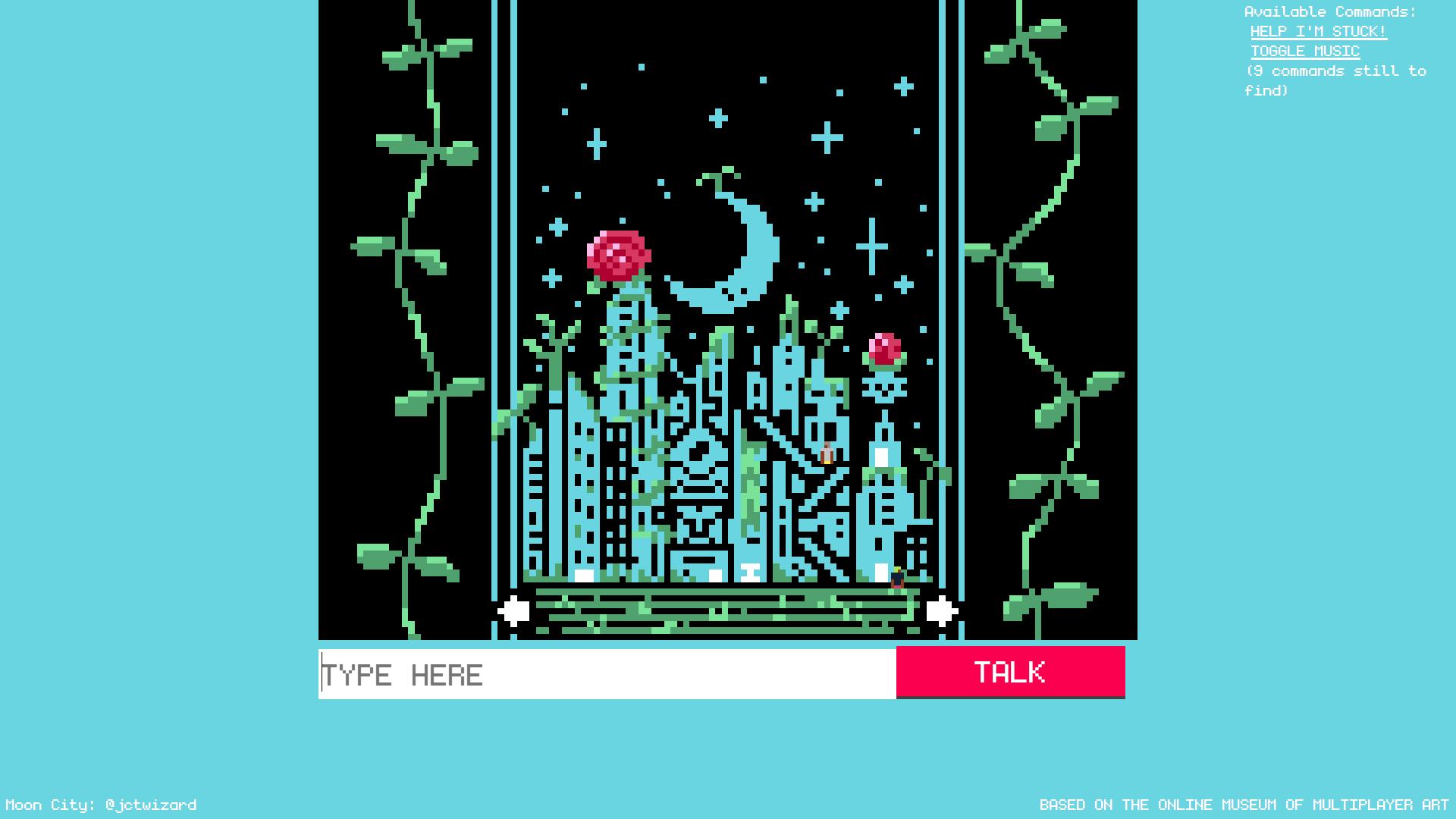 Screenshot of Biome Gallery.