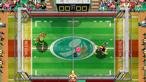 Screenshot of Windjammers 2.