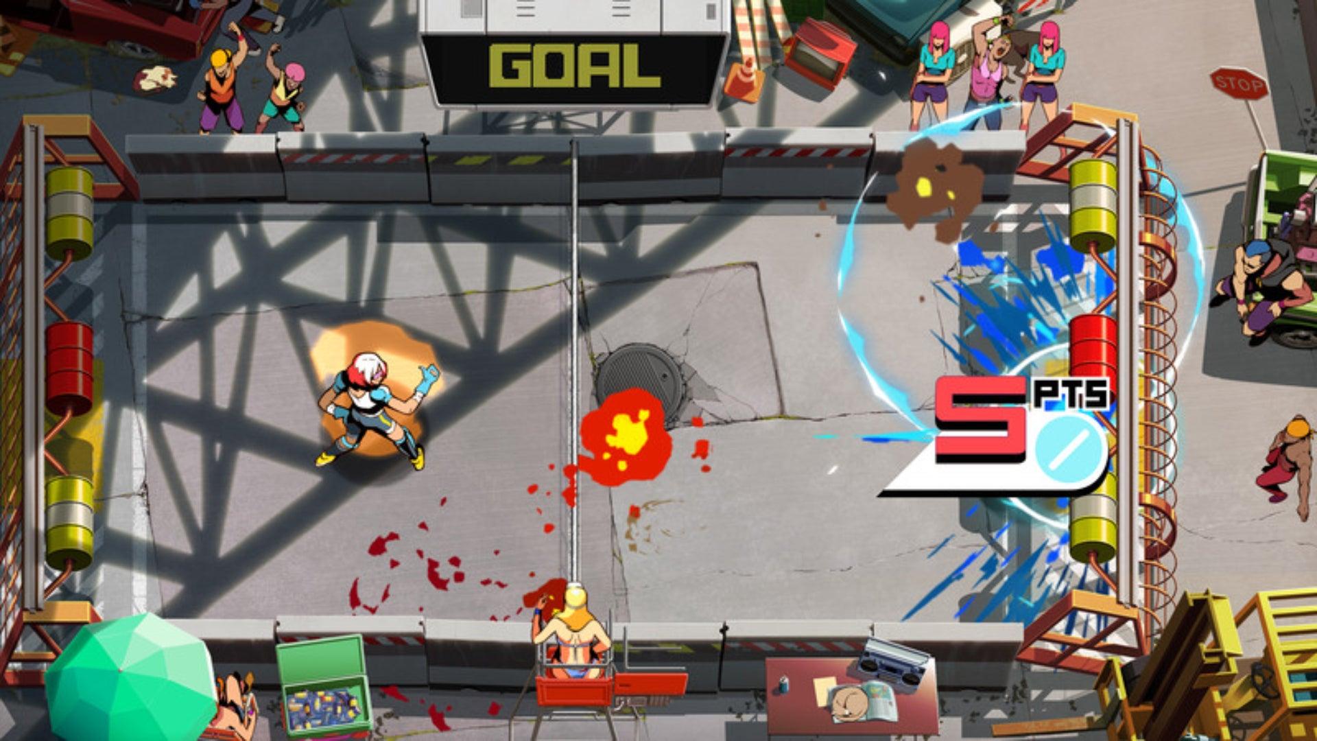 Screenshot of Windjammers 2