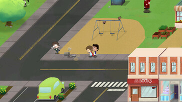 Screenshot of Cricket: Jae's Really Peculiar Game
