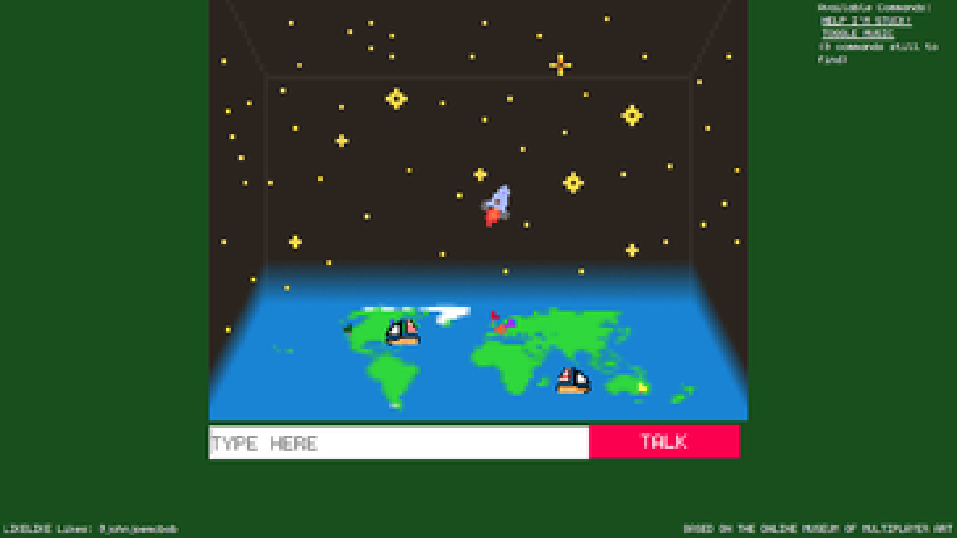 Screenshot of Biome Gallery