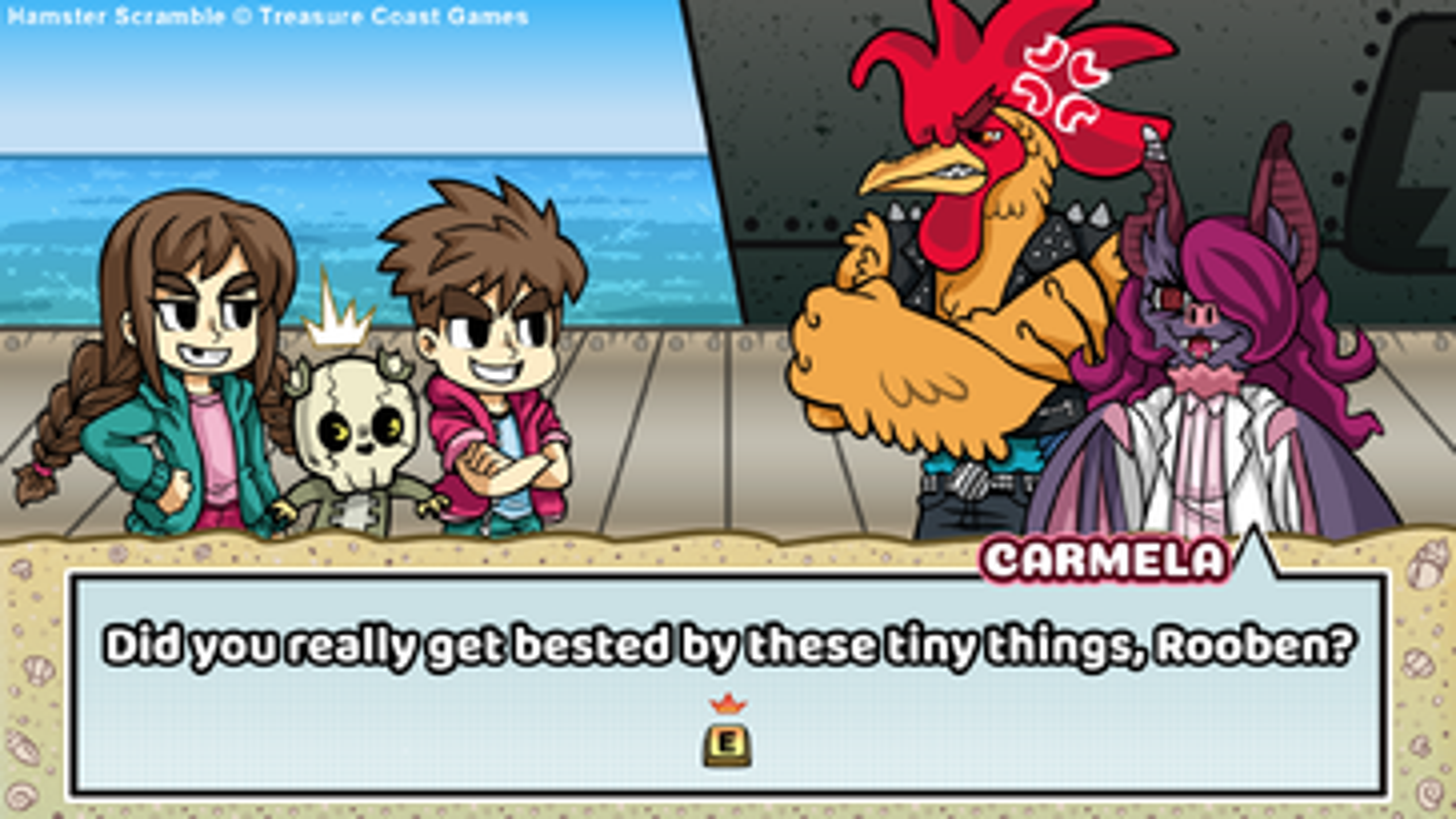 Screenshot of Hamster Scramble