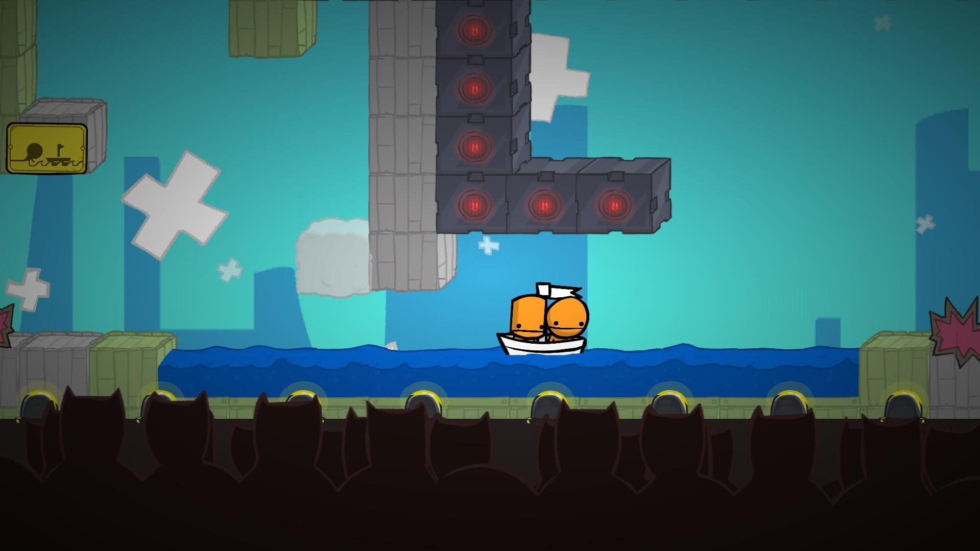 Screenshot of BattleBlock Theater