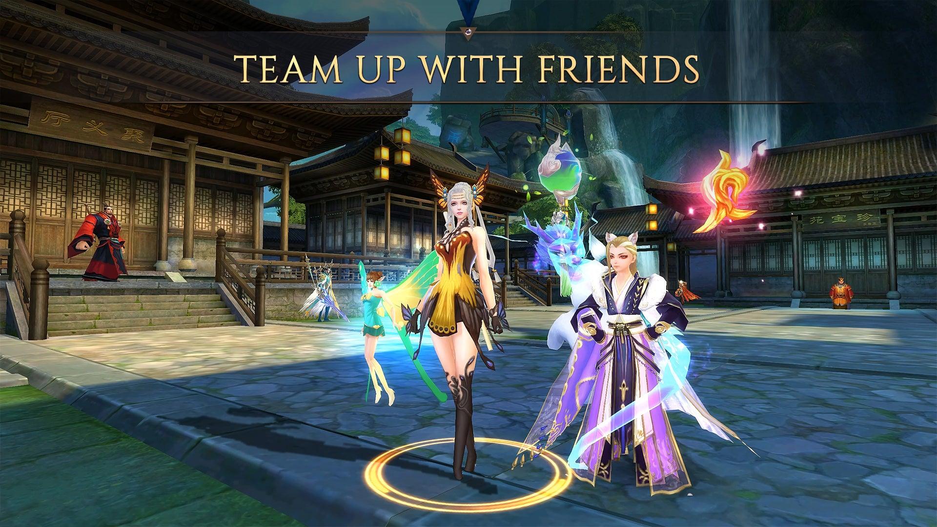 Screenshot of Jade Dynasty Mobile