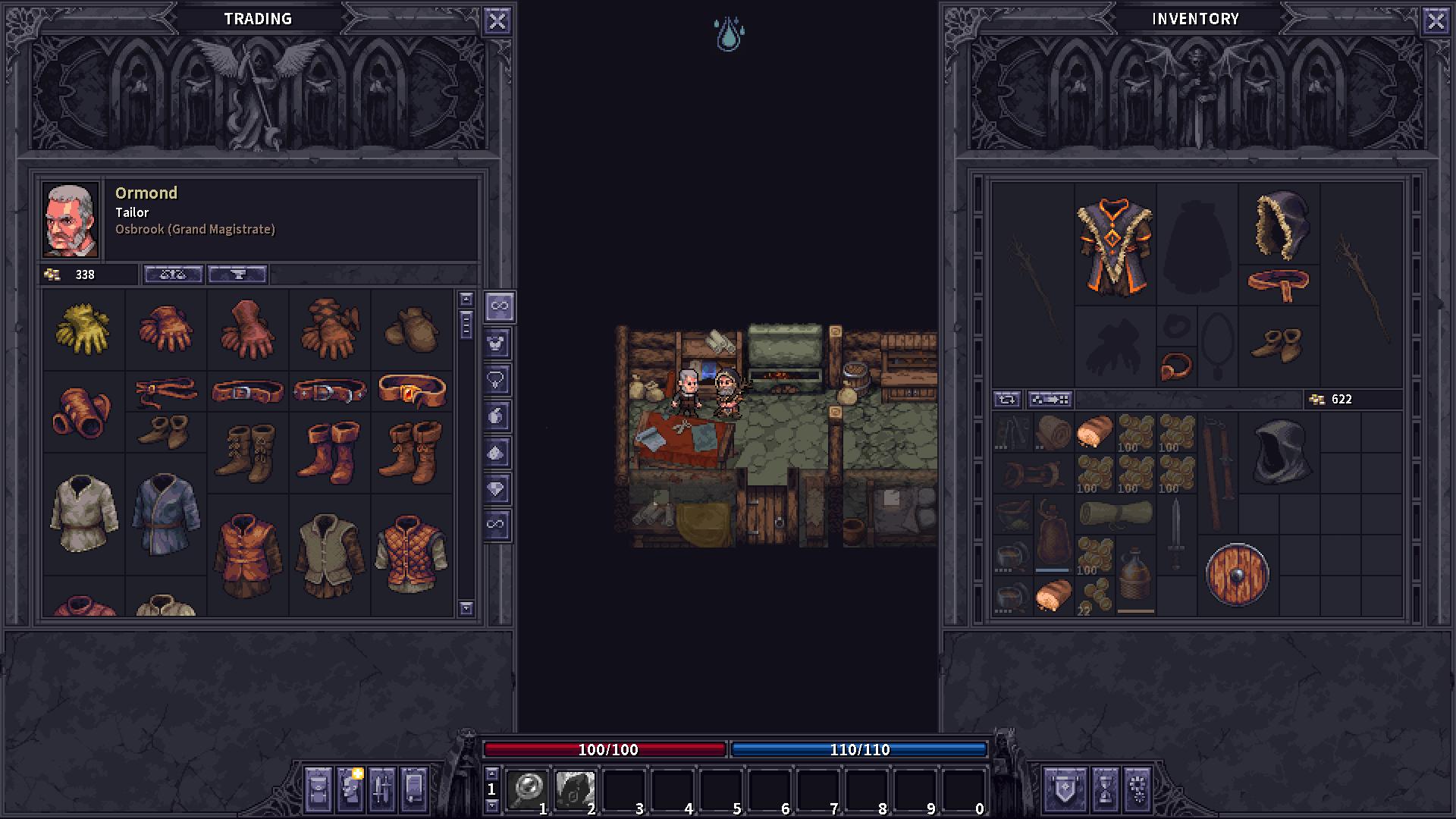 Screenshot of Stoneshard
