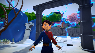 Screenshot of Ary and the Secret of Seasons