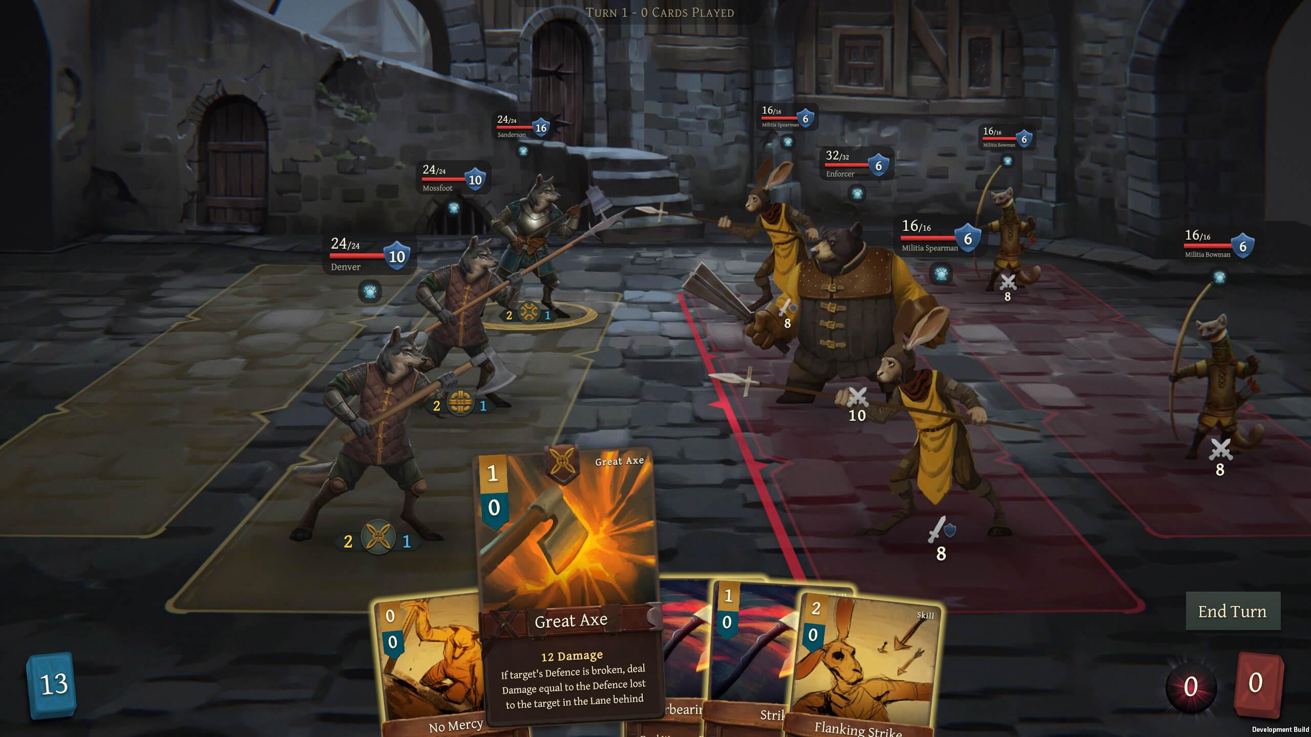 Screenshot of Banners of Ruin