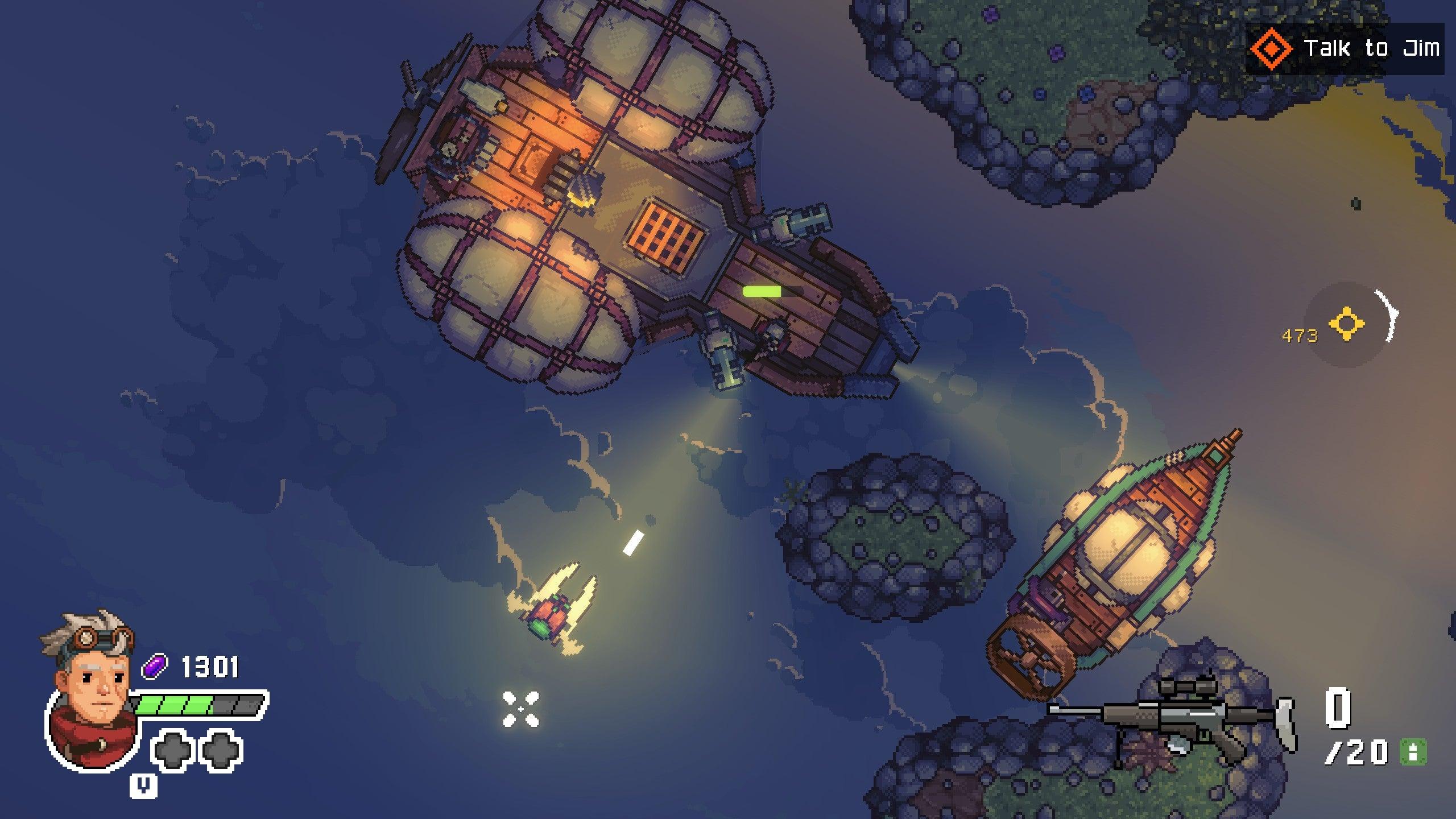 Screenshot of Black Skylands