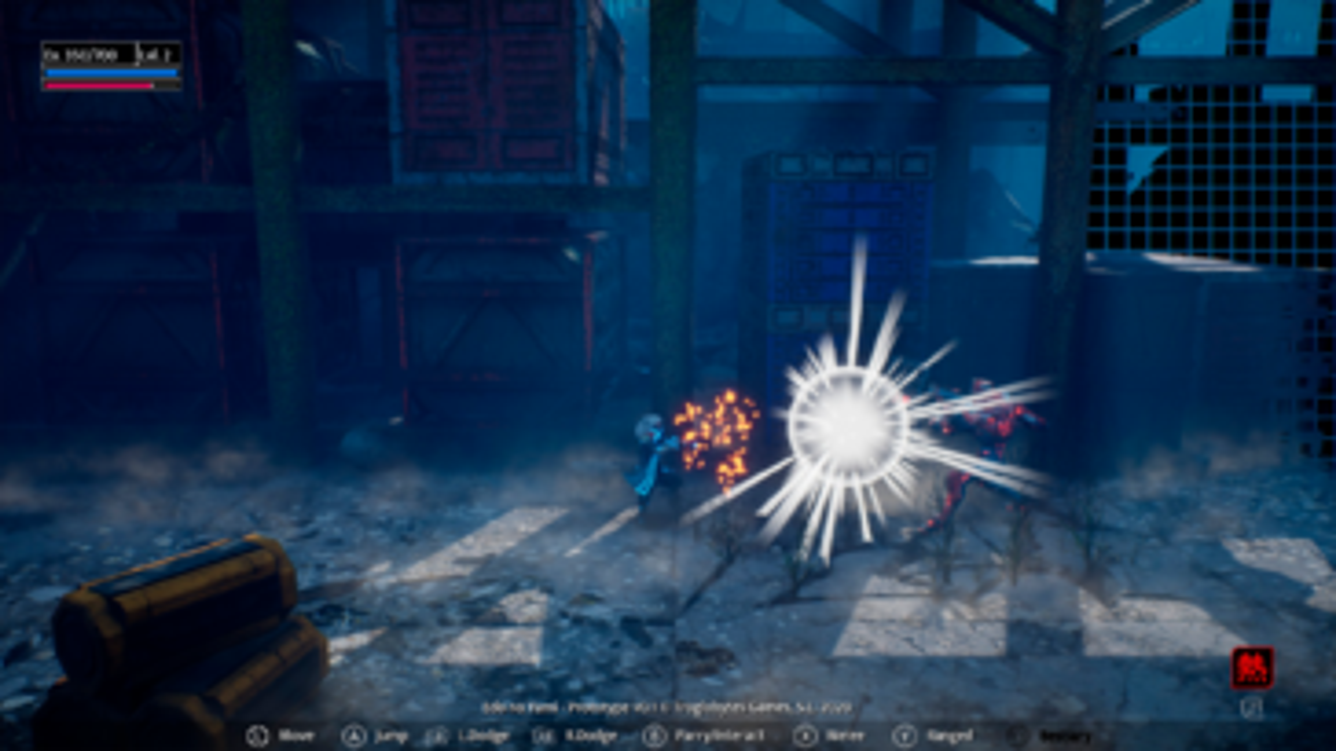 Screenshot of Blind Fate: Edo No Yami