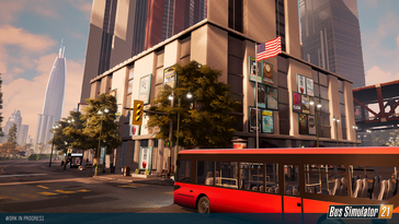 Screenshot of Bus Simulator 21