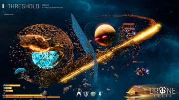 Screenshot of Drone Swarm: Deluxe Edition