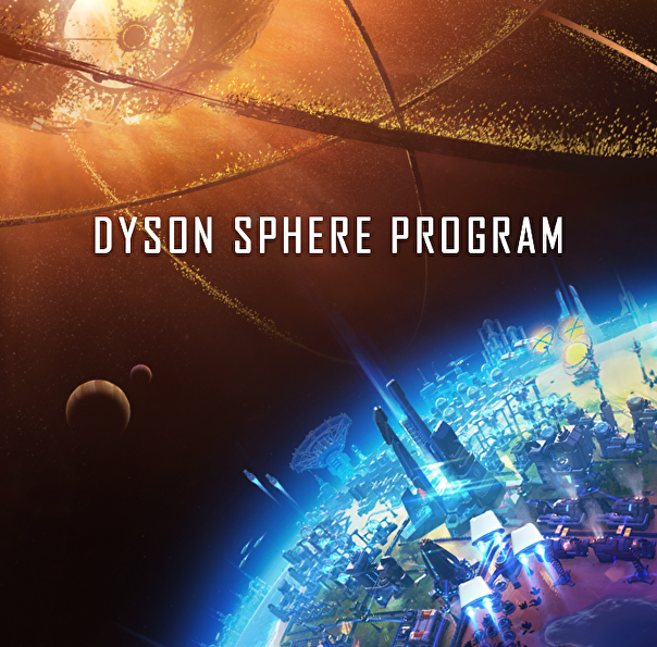 Screenshot of Dyson Sphere Program.