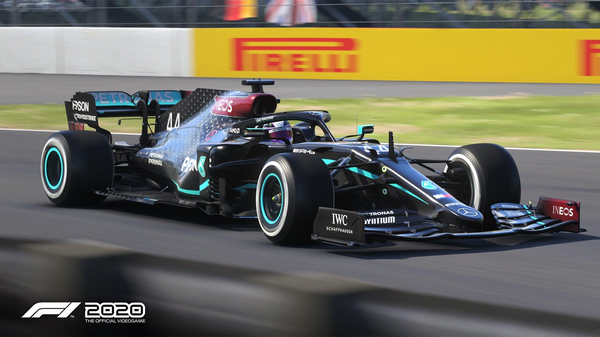Screenshot of F1® 2020