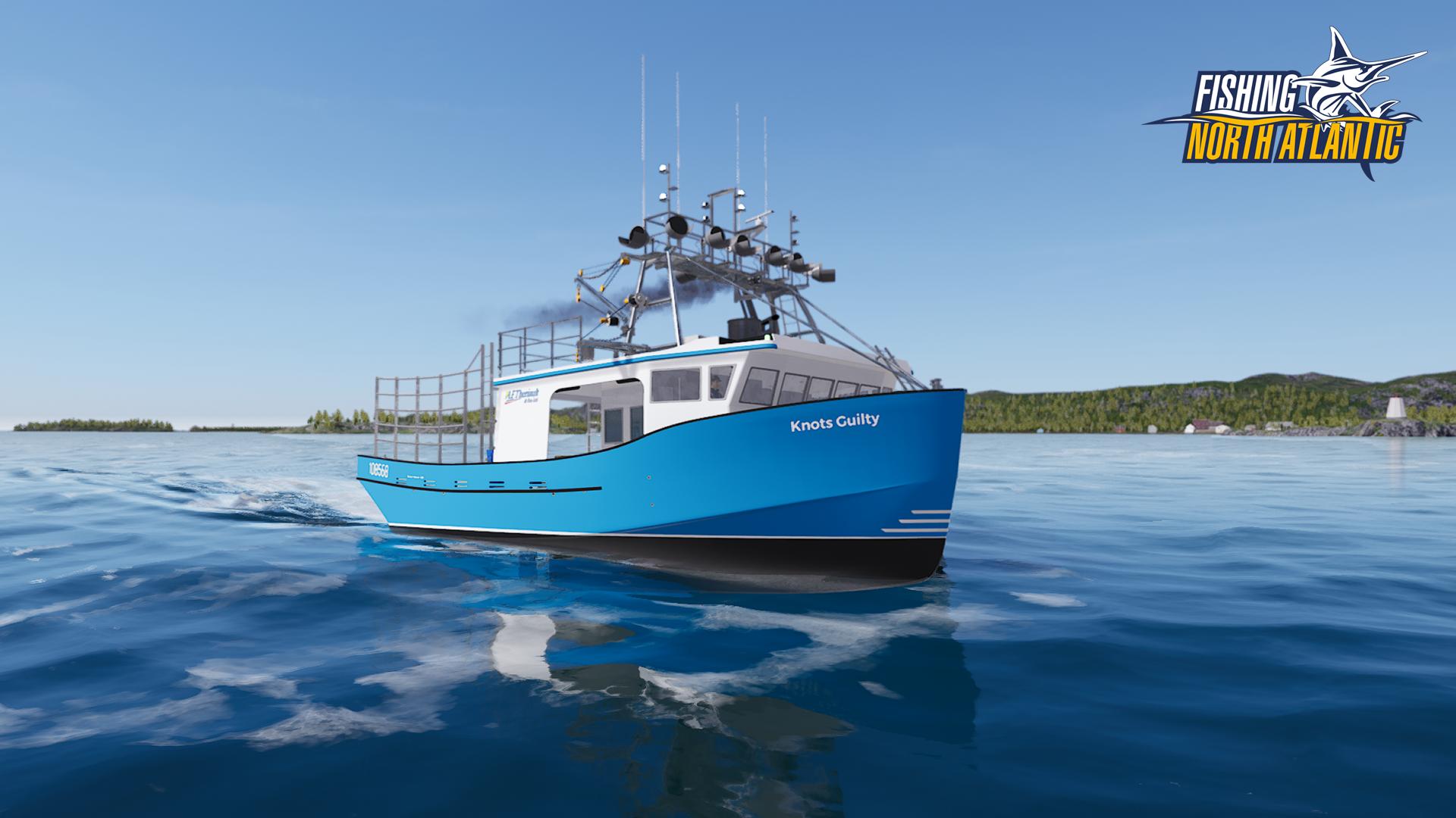 Screenshot of Fishing: North Atlantic