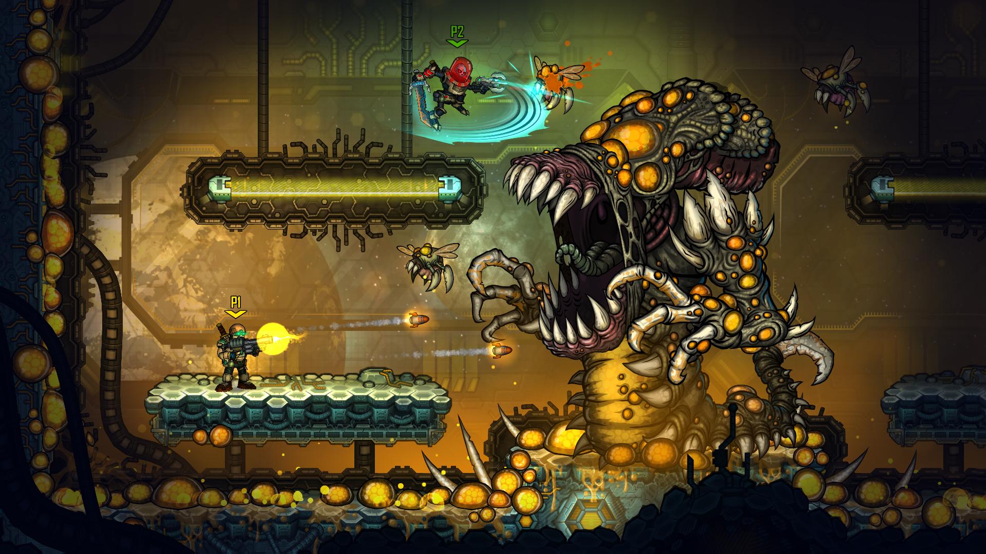 Screenshot of Fury Unleashed