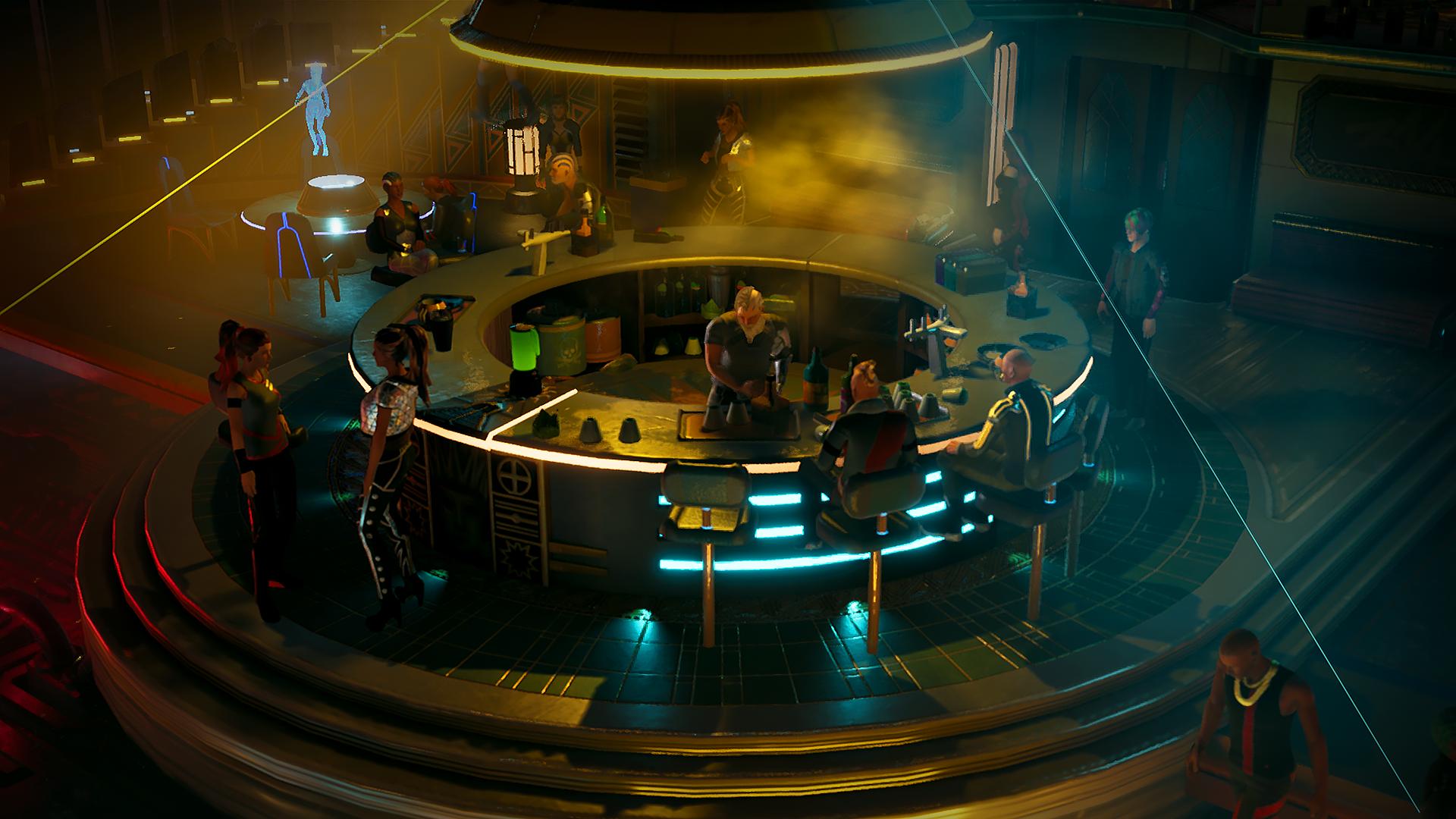 Screenshot of Gamedec