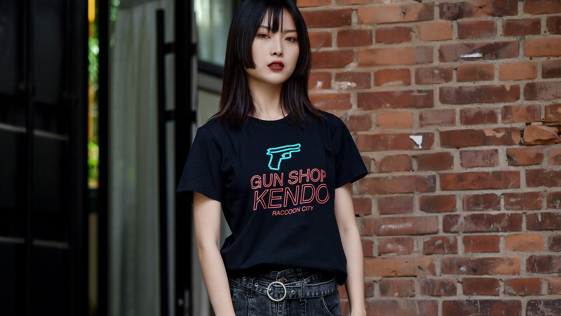 Resident Evil Gun Shop Kendo T-Shirt