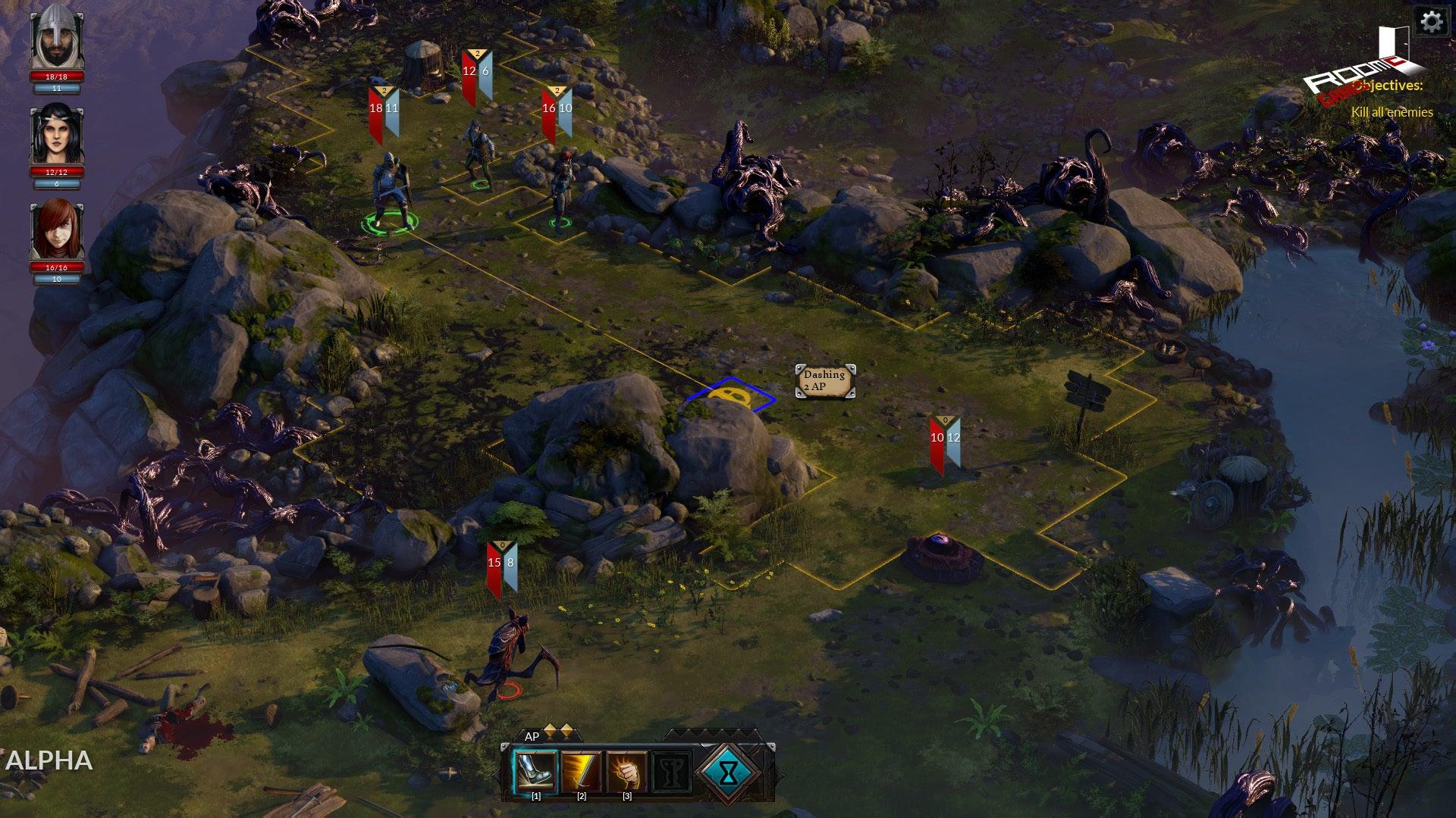 Screenshot of The Hand of Merlin
