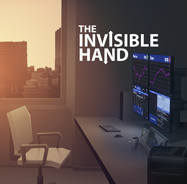 Screenshot of The Invisible Hand.