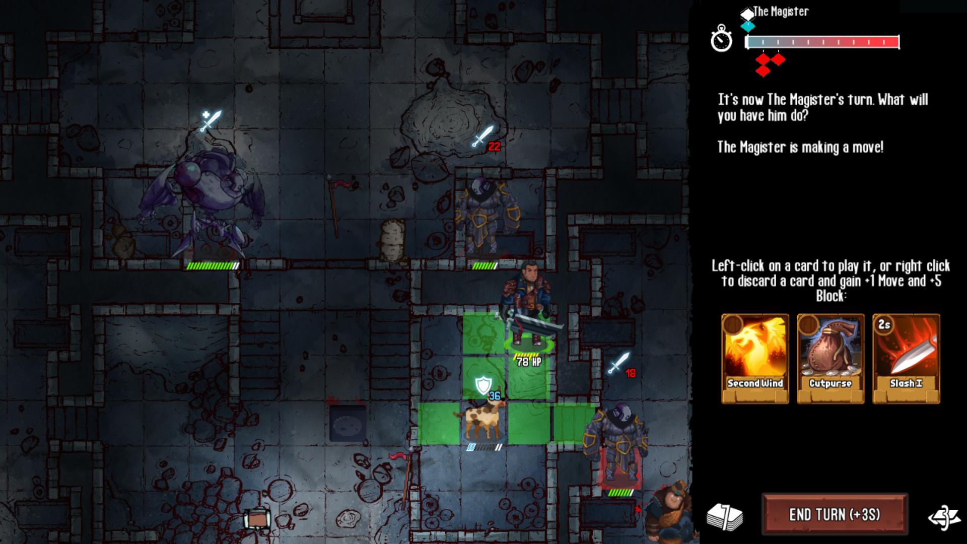 Screenshot of The Magister