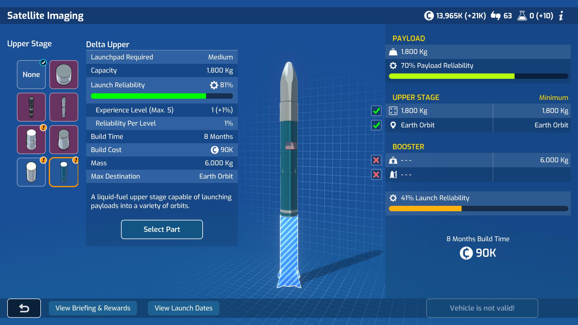 Screenshot of Mars Horizon