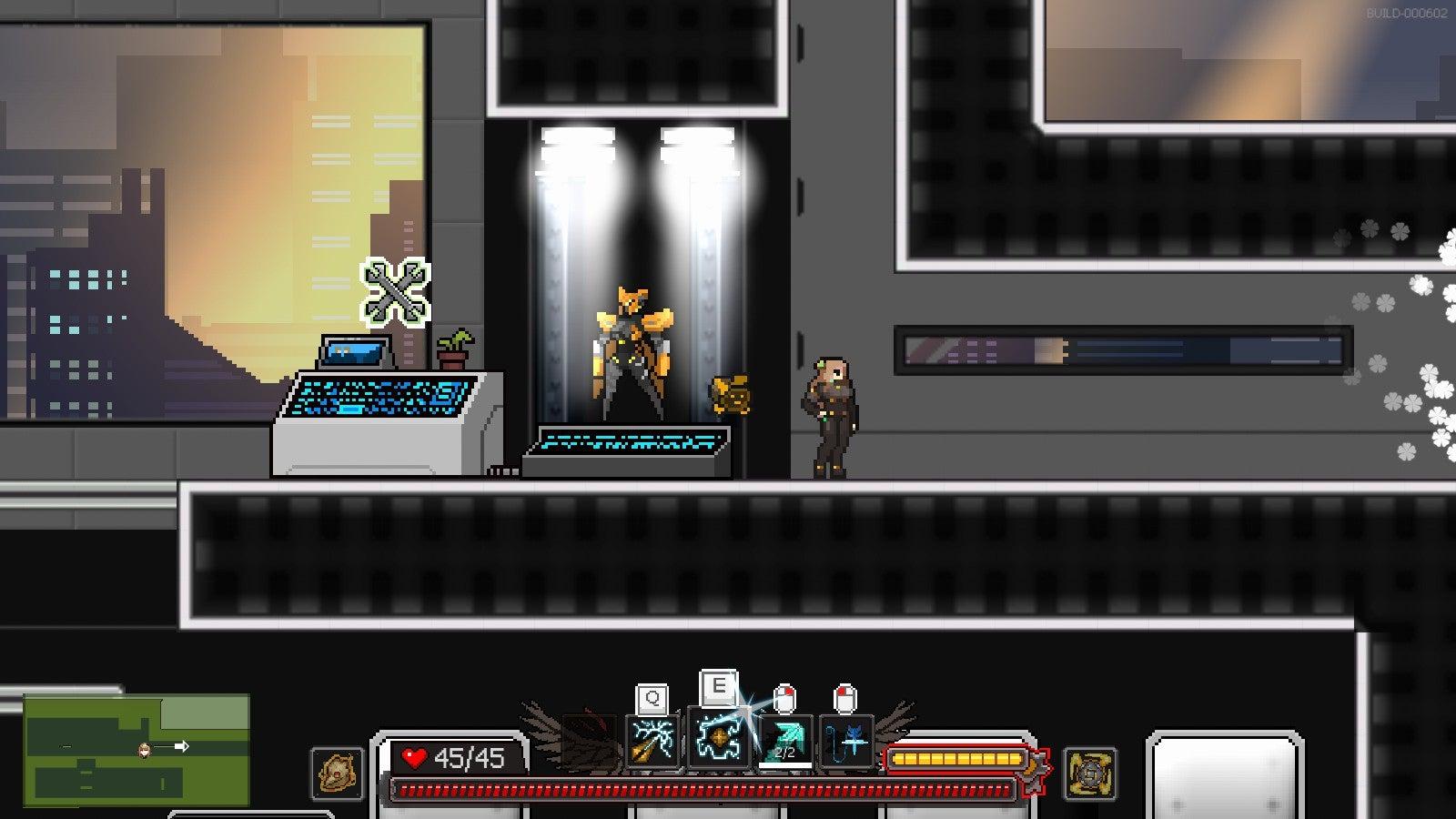 Screenshot of Metal Unit