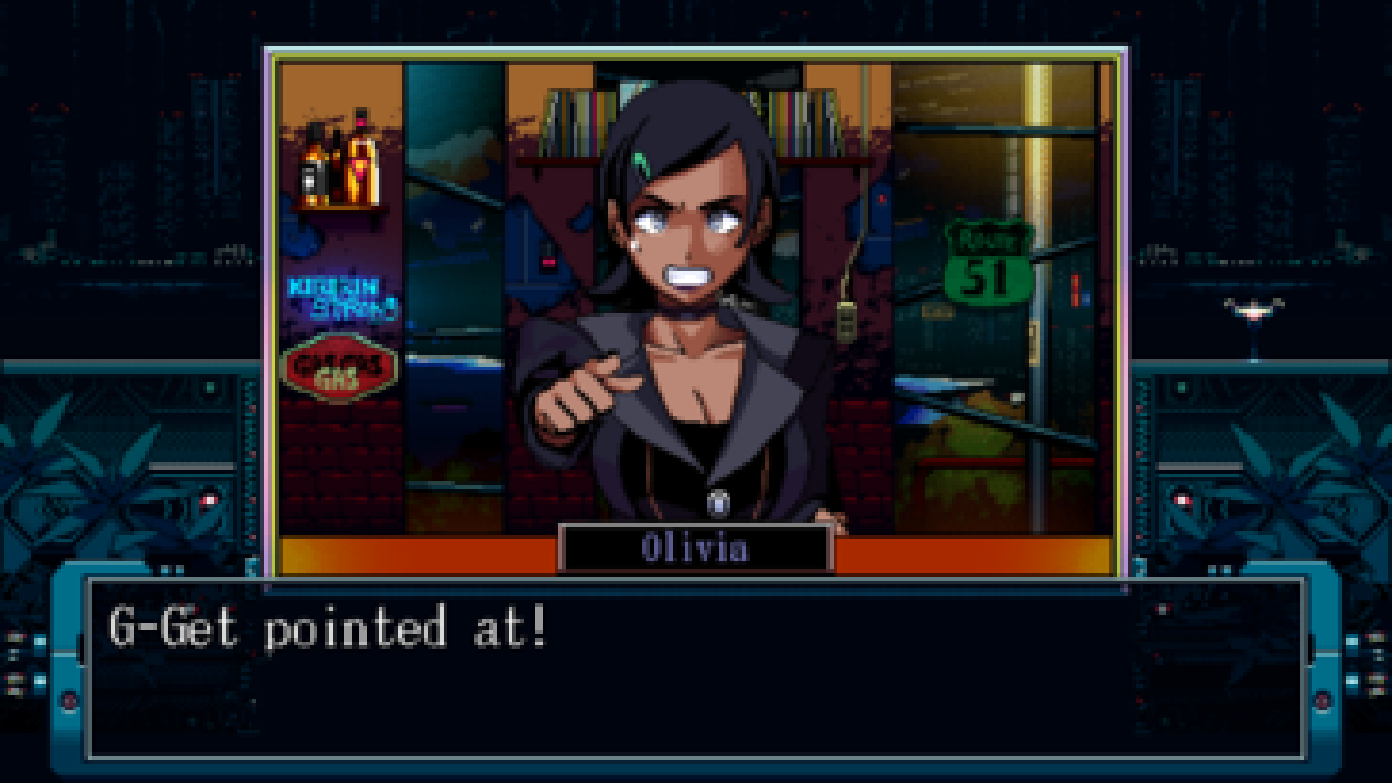 Screenshot of N1RV Ann-A: Cyberpunk Bartender Action