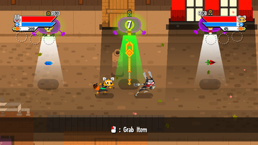 Screenshot of Ninjin: Clash of Carrots