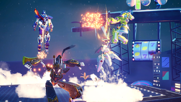 Screenshot of Override 2: Super Mech League
