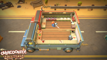 Screenshot of Overcooked! All You Can Eat