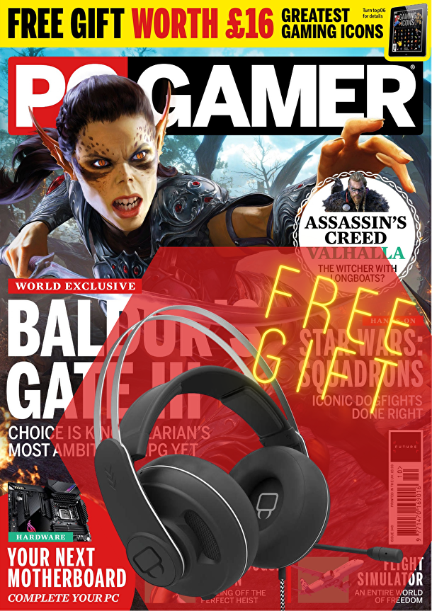 PC Gamer subscription with FREE headset