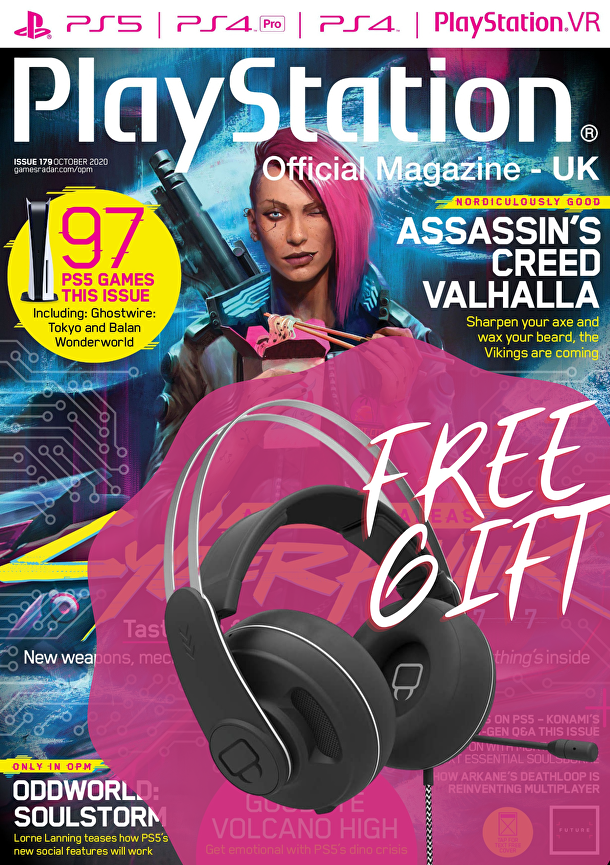 PlayStation Official Magazine with FREE headset