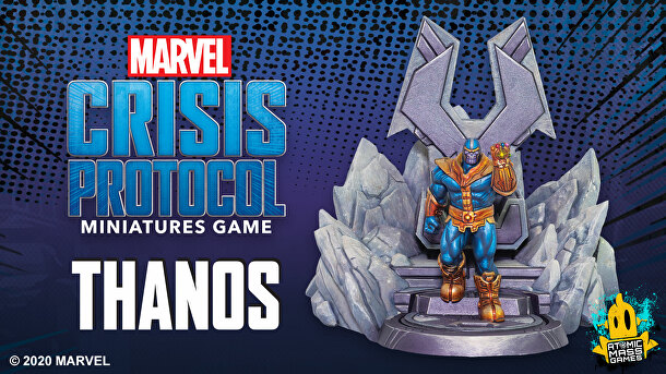 Atomic Mass Games - Marvel Crisis Protocol: Thanos Character Pack
