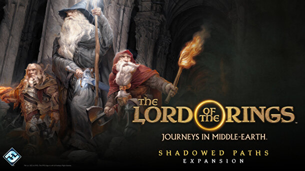 Fantasty Flight Games - Lord of the Rings Journeys in Middle-earth: Shadowed Paths Expansion