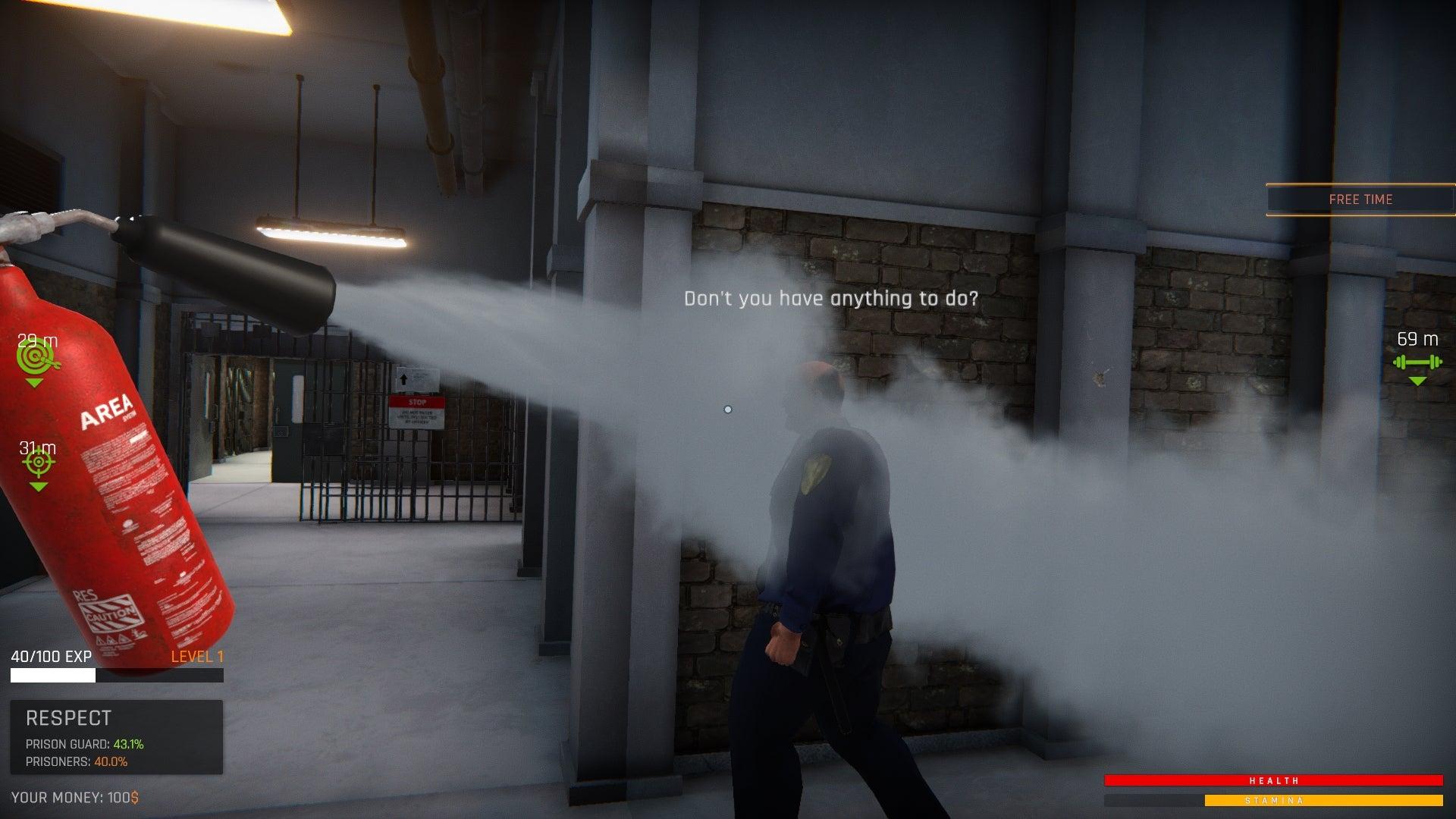 Screenshot of Prison Simulator