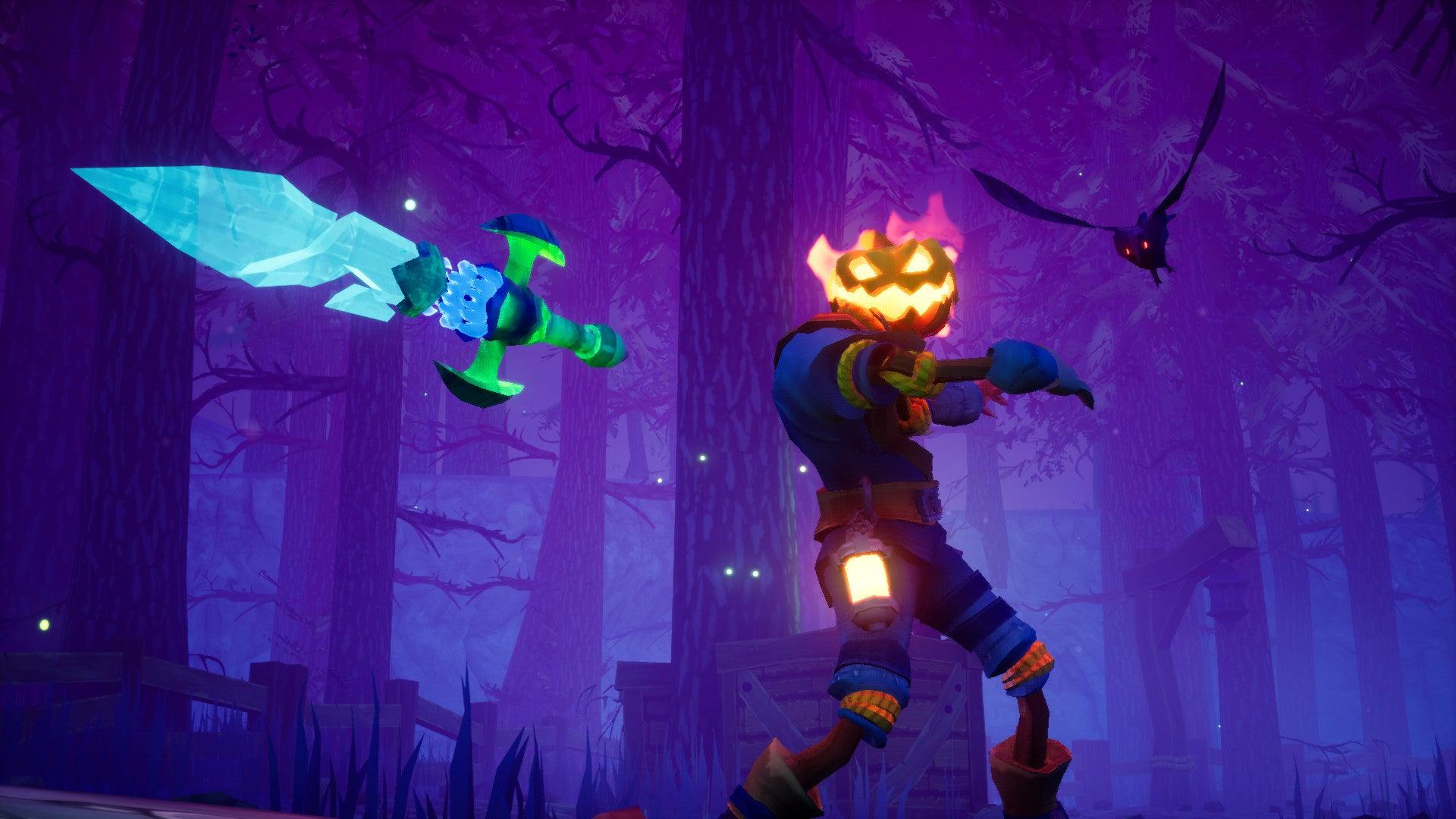 Screenshot of Pumpkin Jack