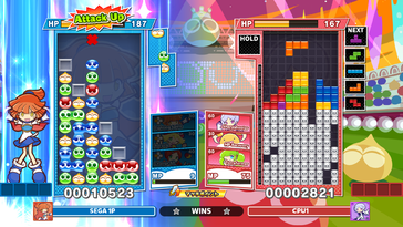 Screenshot of Puyo Puyo Tetris 2