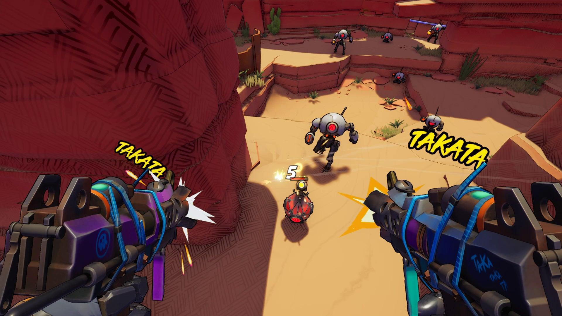 Screenshot of Roboquest