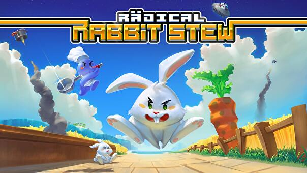 Screenshot of Radical Rabbit Stew.